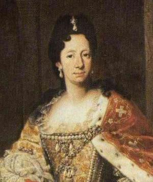 Portrait de Enrichetta-Adelaide di Savoia (1636 - 1675)