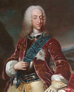 Portrait de Christian VI de Danemark (1699 - 1746)