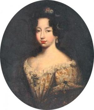 Portrait de Mademoiselle de Valois (1669 - 1728)