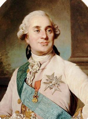 Portrait de Louis XVI de France (1754 - 1793)