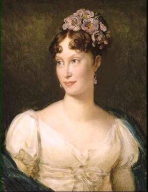 Portrait de L'impératrice Marie-Louise (1791 - 1847)
