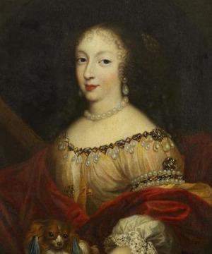 Portrait de Henriette d'Angleterre (1644 - 1670)