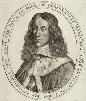 Portrait de Ferdinand Maria von Wittelsbach (1636 - 1679)