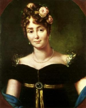 Portrait de Marie Łączyńska (1786 - 1817)