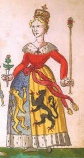 Portrait de Marie van Egmond (ca 1432 - 1463)
