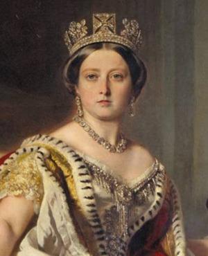 Portrait de Queen Victoria (1819 - 1901)