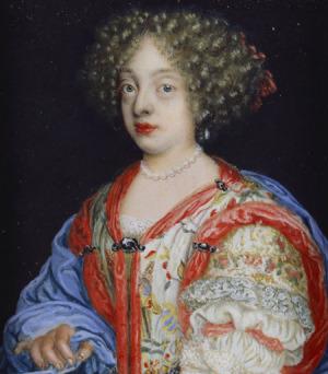 Portrait de Benedicta Henriette von der Pfalz (1652 - 1730)