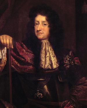 Portrait de Christian V de Danemark (1646 - 1699)