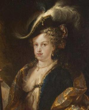 Portrait de Maria Ludovica Gabriella di Savoia (1688 - 1714)