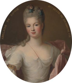 Portrait de Maria Adelaide di Savoia (1685 - 1712)