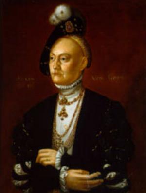 Portrait de Dorothea von Sachsen-Lauenburg (1511 - 1575)