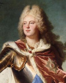 Portrait de August III (1696 - 1763)