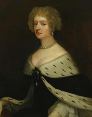 Portrait de Friederike Amalie von Dänemark (1649 - 1704)