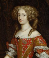 Portrait de Eleonora von Pfalz-Neuburg
