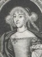 Portrait de Sophie Luise von Württemberg