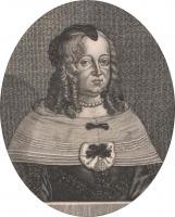 Portrait de Anna Eleonore von Hessen-Darmstadt