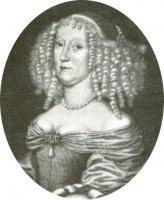 Portrait de Anna Katharina zu Salm-Kyrburg