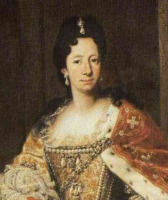Portrait de Enrichetta-Adelaide di Savoia