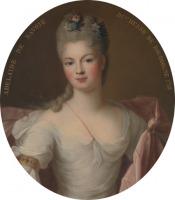 Portrait de Maria Adelaide di Savoia