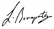Signature de Lucien Bonaparte (1775 - 1840)